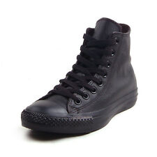CONVERSE CHUCK TAYLOR ALL STAR LEATHER HI BLACK/BLACK 1T405