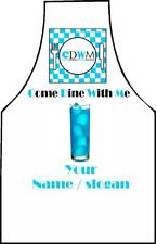 PERSONALISED COME DINE WITH ME APRON