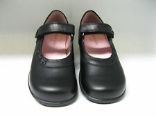 Startrite smart girls shoes. Black leather. Trilogy. SALE.
