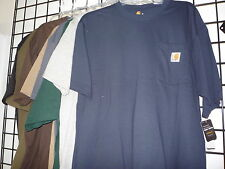 Carhartt Workwear Pocket T-Shirt, K87, Short Sleeves. 8 colors