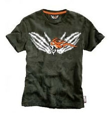 GHOST RIDER - FLAMING - MARVEL COMIC EXTREME - OFFICIAL MENS T SHIRT