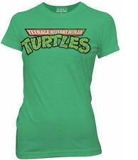 TMNT Ninja Turtles Old School Logo Juniors T-Shirt