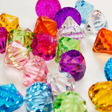Assorted Pirate Gems large Acrylic Diamond table scatter vase filler pendant