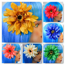 """GORGEOUS 6.5"""" SUNFLOWER HAIR BARRETTE AND BROOCHE (FREE DOMESTIC SHIPPING)"""