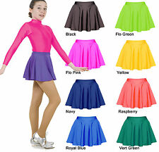 Girls Nylon Lycra Skater Skirt - Circular Skirts by Tappers and Pointers UK Made