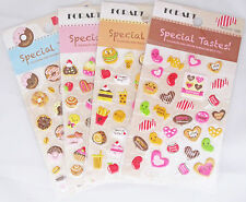 Special Tastes! Puffy Sticker Sheet (Your Choice of Design)~KAWAII!!