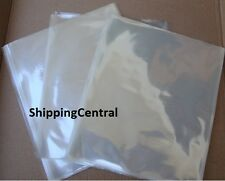 Shrink Film Wrap Flat Bags 6x7 CD Gifts Etc PVC - Pieces 25 50 100 250 500 1000