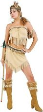 Womens Sexy Indian Halloween Costume Pocahontas Native XS Small Adult