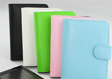 """New Leather carrying case cover for  5"""" inch GPS /MP5/ /MP4 / PDA"""