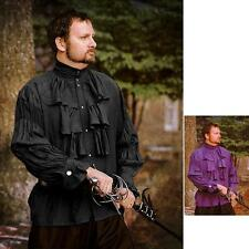 Classic Style Nobles Shirt. Perfect Renaissance Pirate or any Era Costume & LARP
