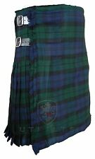 Black Watch Mens Tartan Kilt 16oz  - 8 yards