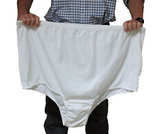 """16:Bariatric Cotton Panties 10XL fit hips to 79"""" (195 cms) UK42 weight 35stone"""