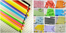 Bright Pure Color Lucky Star Folding Origami Paper,Choose Color US SELLER!
