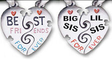 Best Friend Necklace Best Friends Necklaces Friends Forever Dog Tags Sisters SET