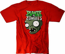 Plants vs Zombies T-Shirt Plush Toys Figures Xbox 360 Merchandise Clothing Youth