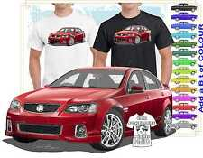 2012 VE SS COMMODORE  QUALITY T-SHIRT & A4 PRINT CLASSIC MUSCLE CAR