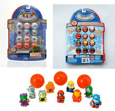 Squinkies Bubble Pack of 12 Marvel Toy Story WWE, Cars 2