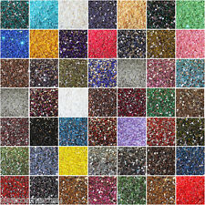 1000 Crystal Flat Back Acrylic Rhinestones Gems 60 colors, 2mm, 3mm, 4mm, 5mm