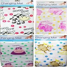 CLEAN BABY CHANGING MAT FOLDS UP SMALL FIT NAPPY BAG TRAVEL LIGHTWEIGHT PORTABLE