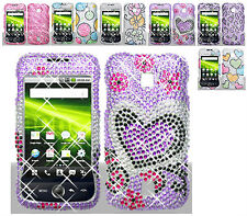 1 Bling Rhinestone Hard Case For Huawei Ascend M860/TapouT Edition M860SE Phone