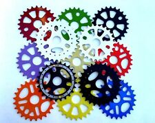 NEW! 25T BMX BICYCLE SPROCKETS *GOLD, BLACK, WHITE, BLUE, PURPLE & ORANGE