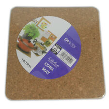 PLACEMATS PACKS - SETS CORK WICKER NEW SHAPES TABLE PLACE MATS KITCHEN DINING