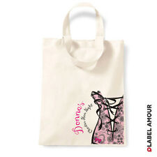 Personalised Party Favour Hen Do Wedding Gift Cotton Tote Bag Sack   London