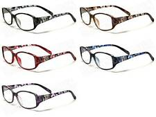 DG EYEWEAR® DESIGNER READING GLASSES WOMENS FLOWERS SPECTICLES D.G-R2011 NEW