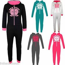 NEW KIDS GIRLS BOYS NEW YORK PROJECT DELUXE ALL IN ONE PJ'S JUMPSUIT 7-13 YEARS