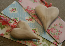 Wooden Craft Hanging Heart Decoupage Painting Chic&Shabby Wedding Decorations
