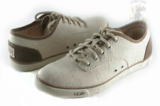 UGG Australia Hally Women Sneakers Canvas 1002640 Natural 100% Authentic B. New