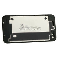 Black White Battery Cover Back Door Rear Glass Replacement for Apple IPhone 4