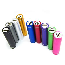 LOT 2600mAh USB Power Bank Portable External Battery Pack for MP3 iphone Samsung