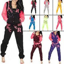New Womens Ladies NYC Varsity Baseball Tracksuit Joggers Jacket Size 8 10 12 14