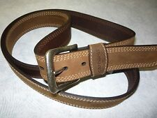 Carhartt Detroit Belt.  Carhartt Belt, Work Belt, Jean Belt, Brown Belt.  NWT
