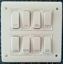 Grid Switch / Multi Gang Switch / Engraved Switch / Printed Switch