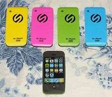 Smart Phone rubbers 1 of 4 Colours Mobile Work Fun Office Birthday Gift bnip