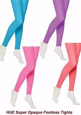 HUE Seamless Super Opaque Footless Tights w/Control Top U10951 - MSRP $18