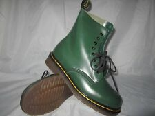 Vintage Dr. Martens Men's Boys' Green 8 Eyelet Boot US 5,7 & 9 MADE IN ENGLAND