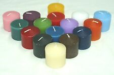 1-Dozen-Show Your School Colors Votive Candles~FREE Votive Holder With 2-Dozen