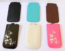 New PU Leather Pull Tab Sleeve Pouch Case For Samsung Galaxy S3 S4 i9300 i9500