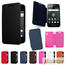 New Leather Flip Back Battery Cover Case Guard For Samsung Galaxy Ace S5830