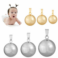 Chime of bells harmony ball gold Mexican bola for children pregnancy jewelry