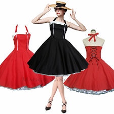Maggie Tang 50s 60s Vintage Dancing Swing Rockabilly Party Dress Petticoat 508