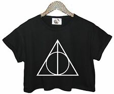 TRIANGLE CRO TOP TANK T SHIRT HIPSTER GRUNGE RETRO TUMBLR SWAG FUNNY FASHION NEW