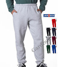 Jerzees 4850 Adult Super Sweats Pants Pocketed  with Pockets S-3XL New  Sporty
