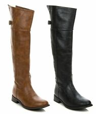 New Breckelle's Women Over The Knee Thigh High Riding Boot RIDER-82 SIZE 6-11