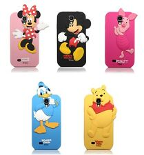 New 3D Cute Lovely Disney Cartoon Silicone Soft Case For Samsung Galaxy S4 i9500