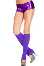 Pole Dancer 80's Sexy Thick Acrylic Knit Leg Warmer Knee Hi Dancer 5724