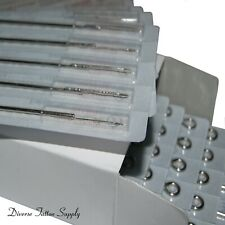 50 Disposable Sterile Tattoo Needle Round Liner Kit